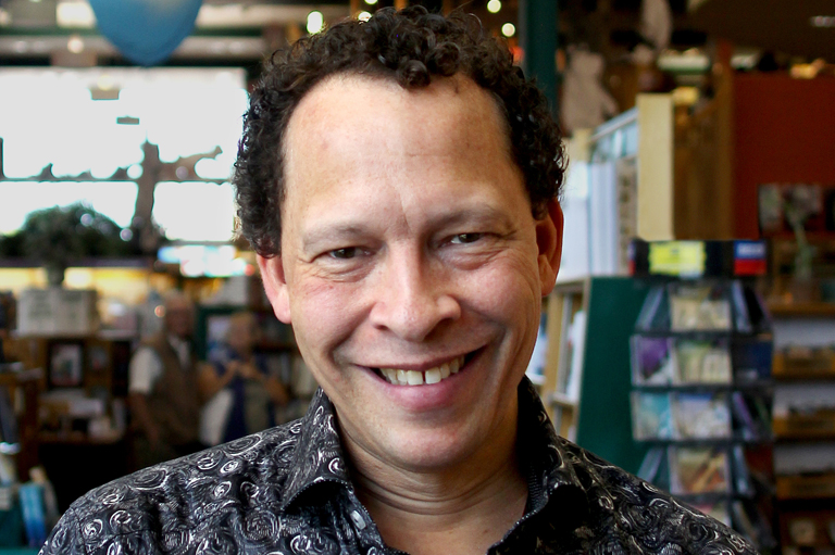 Lawrence Hill, recipient of the 2015 Governor General's History Award for Popular Media