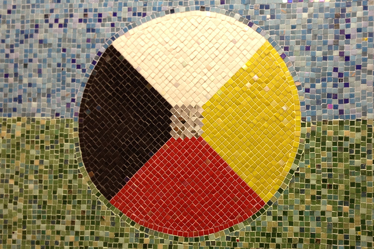 This image shows a Medicine Wheel.