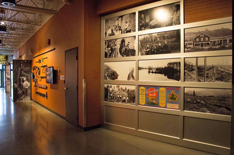 The Voices of the Valley exhibition at the Reach Gallery Museum Abbotsford, recipient of the Governor General's History Award for Excellence in Community Programming