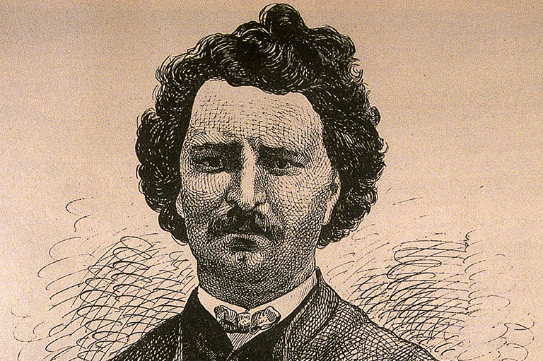 This is an image of Louis Riel.