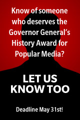 Email us your nomination for the Popular Media award!