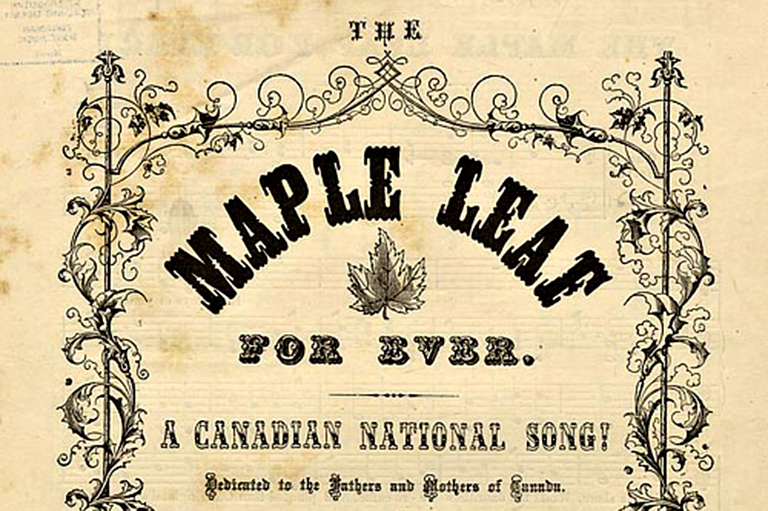 The Maple Leaf Forever Sheet Music