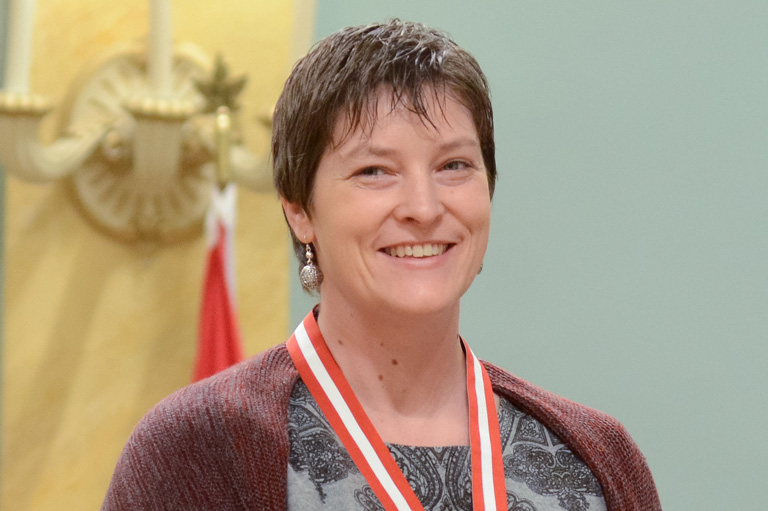 Rachel Collishaw, recipient of the 2013 Governor General's History Award for Excellence in Teaching
