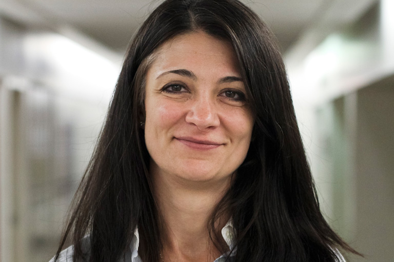 Milena Ivkovic, recipient of the 2012 Governor General's History Award for Excellence in Teaching