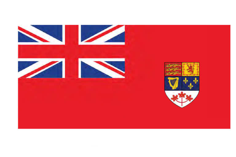 The Red Ensign flag
