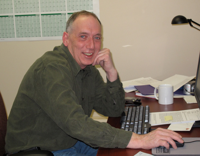 Brian Jaffray, recipient of the 2012 Governor General's History Award for Excellence in Teaching