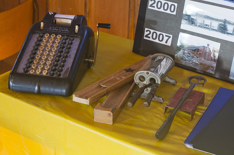 Snapshot of the living history exhibit created by La Meute Culturelle, recipient of the 2012 Governor General's History Award for Excellence in Community Programming