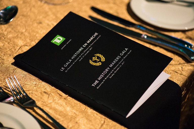Photo of the History Makers Dinner Program