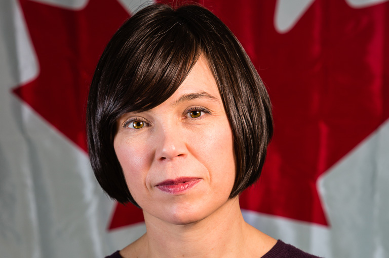 Janet Thompson, recipient of the 2012 Governor General's History Award for Excellence in Teaching
