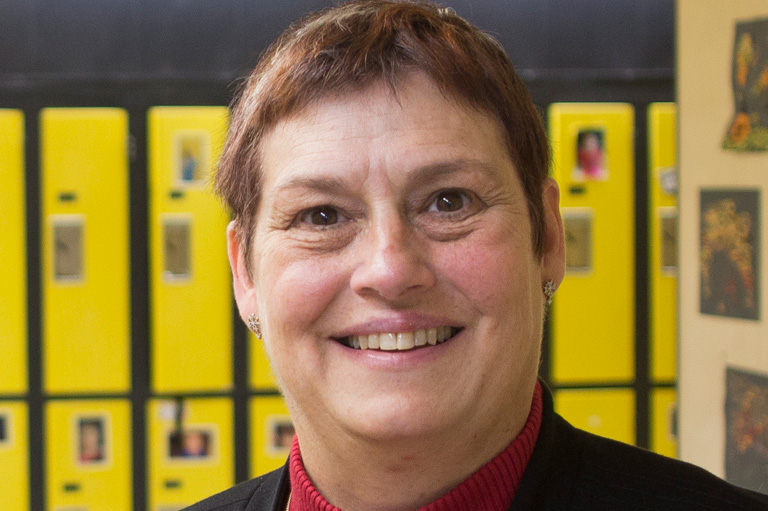 Elizabeth Phipps, recipient of the 2012 Governor General's History Award for Excellence in Teaching