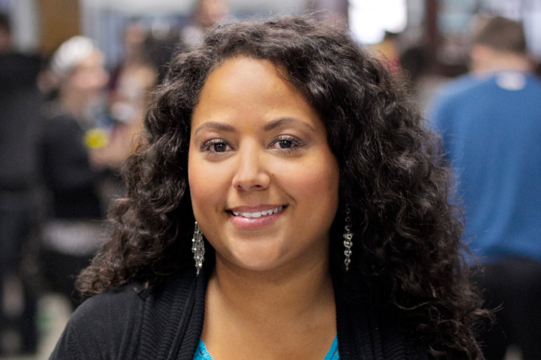 Shantelle Browning-Morgan, recipient of the 2011 Governor General's History Award for Excellence in Teaching