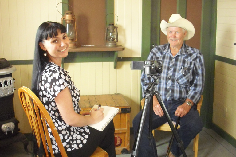 The Coyote Flats Oral History Project, recipient of the 2015 Governor General's History Award for Excellence in Community Programming