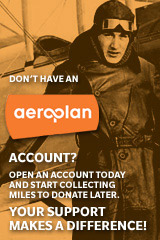 Open an Aeroplan account today!