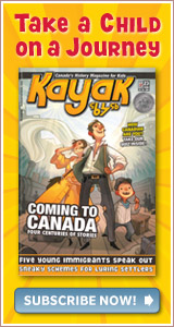 Give the gift of Kayak: Canada's History for Kids