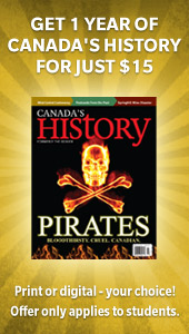 Students can get Canada's History for only $15!