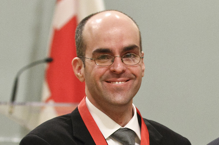 Michel Ducharme, recipient of the 2011 Governor General's History Award for Scholarly Research