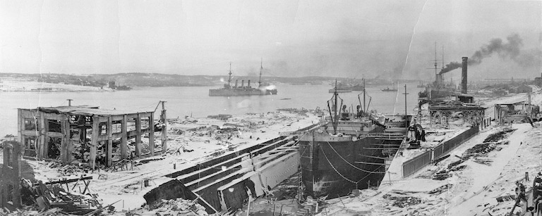 Aftermath of the Halifax Explosion