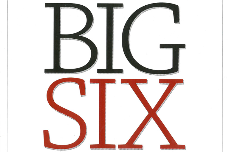 Cover of The Big Six Historical Thinking Concepts.