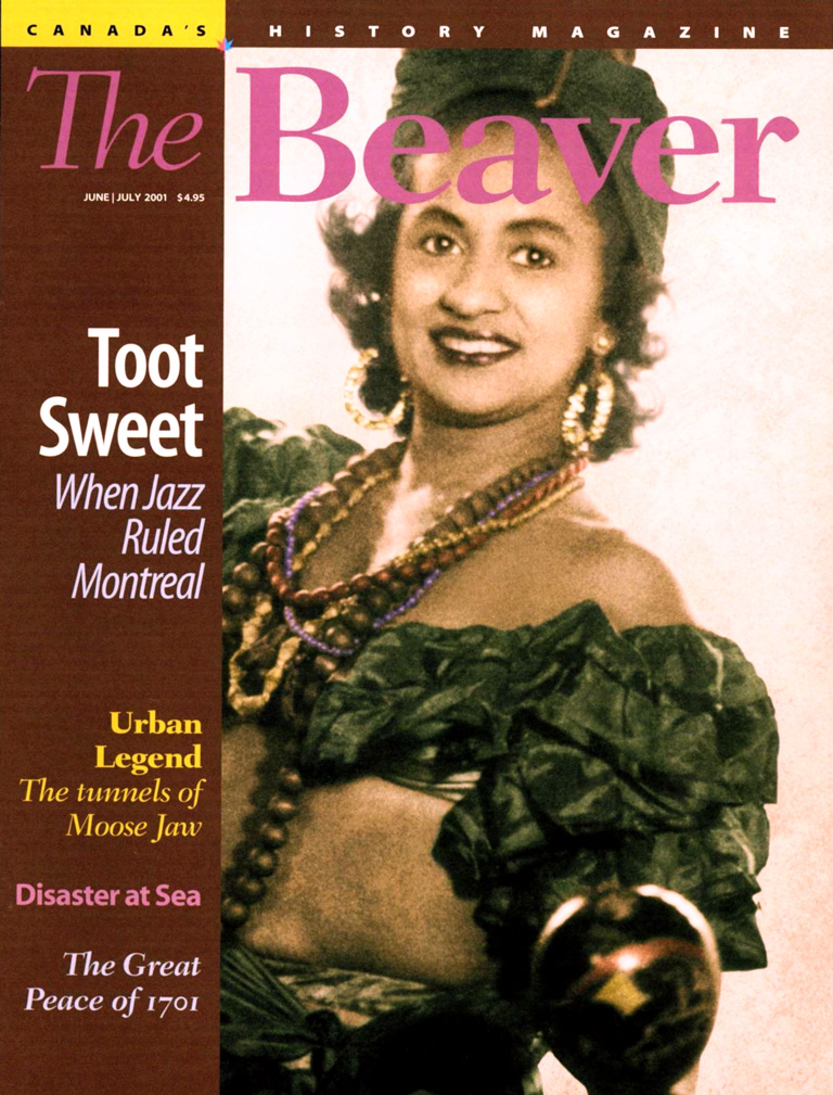 Cover Girl - Canada's History