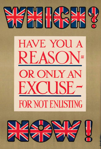 Coloured text filled in with Union Jack design