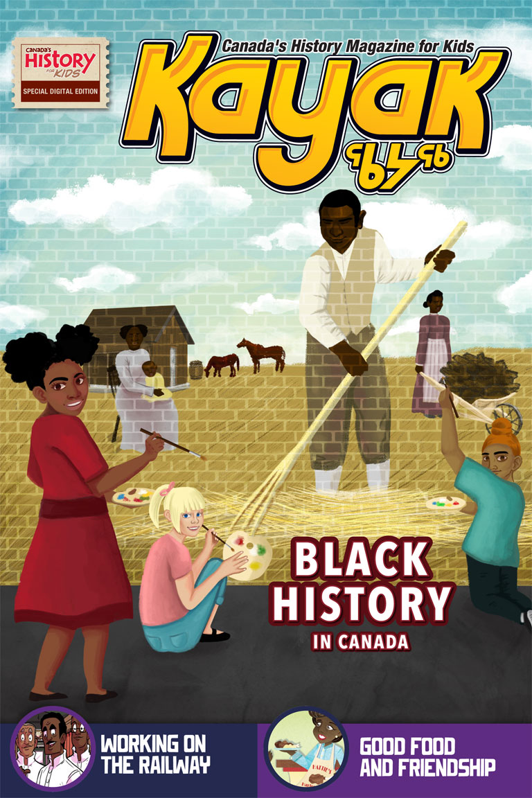 Cover of Kayak Black History issue