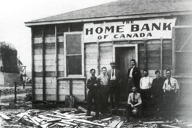 Before Banks Went Bust They Went >> The Bank That Went Bust Canada S History