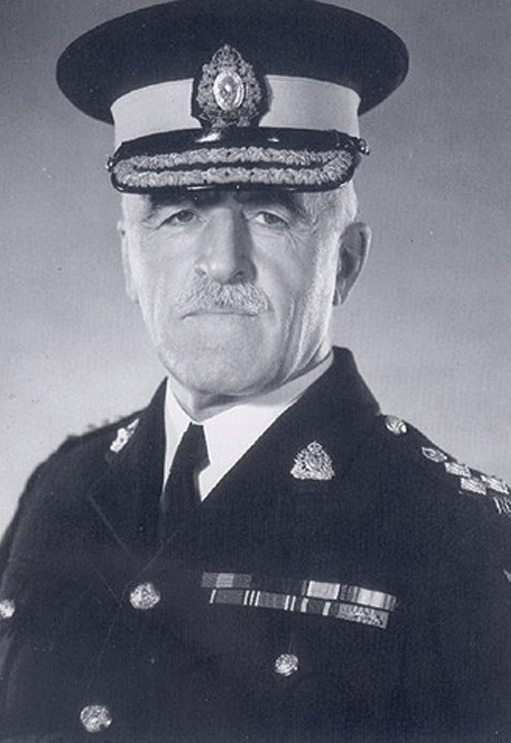 A man in military uniform