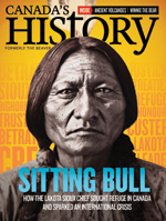 Canada's History cover of February-March 2017 issue featuring Eileen Vollick