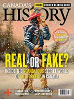 Canada's History cover of June-July 2021 issue featuring Eileen Vollick