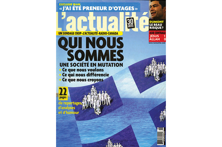 This image shows the cover of a French magazine.